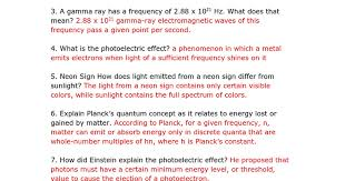 What Color Of Visible Light Has The Longest Wavelength Wow More Electrons In Atoms Practice Problems Key Google Docs
