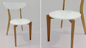 white kitchen chairs interior design