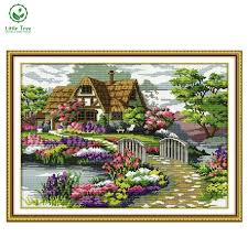 2017 new diy painting kits cross stitch 3d painting