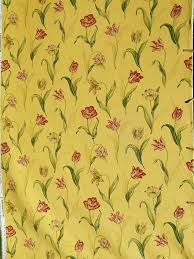Waverly Upholstery Fabric Colonial Williamsburg Palace Tulip Upholstery Fabric Drapery