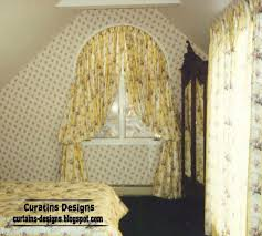 Curved Window Curtain Rods For Arch Arched Windows Curtain Design Ideas For Bedroom Arched Curtain