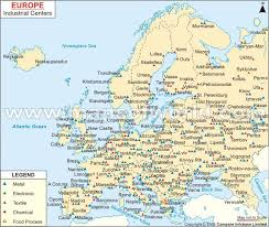 map western europe cities map of europe with cities and towns major tourist