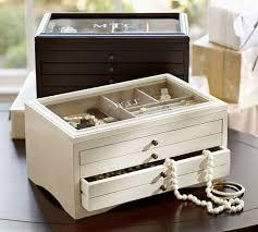 Pottery Barn Travel Jewelry Case Andover Jewelry Box Pottery Barn