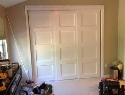 Bypass Doors Closet Bypass Closet Doors Home Design Ideas