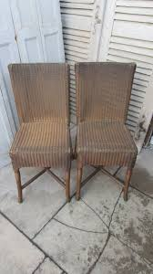 pair of vintage lloyd loom dining chairs antiques atlas