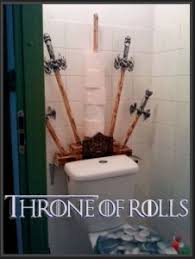 themed toilet paper holder of thrones themed toilet paper holder wiping is coming