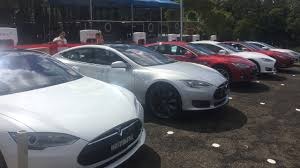 Tesla Supercharger Map Tesla Opens Its New Port Macquarie Supercharger Today Gizmodo