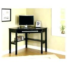 Small Black Corner Computer Desk Small Black Corner Desk Countrycodes Co
