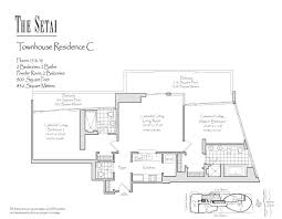 900 square foot floor plans setai south beach floor plans