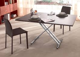 amazing space saving coffee table to dining table u2013 adjustable