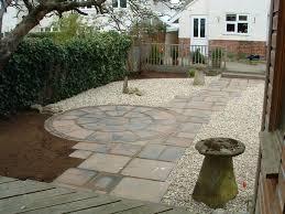Paving Ideas For Gardens Paved Garden Ideas Garden Design