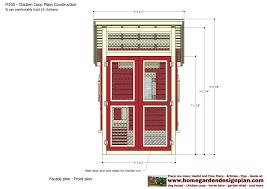 Chicken Coop Floor Plan Home Garden Plans M100 Chicken Coop Plans Construction