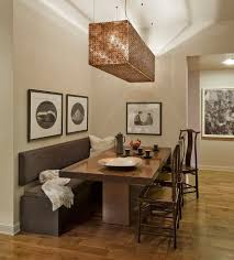28 dining room table with bench seating easy bench