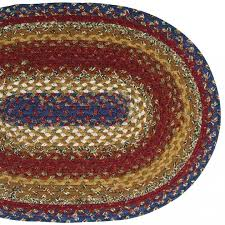 country braided rugs ihb 203 black country star braided rugs pic