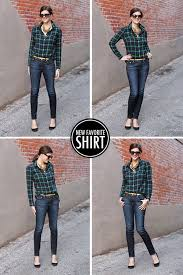 20 style tips on how to wear a plaid or flannel shirt gurl com