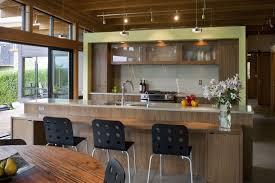 Kitchen  Contemporary Kitchen Interior Design Idea Grey Kitchen - Modern interior design ideas for kitchen