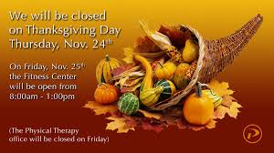 pinamonti wellness on thanksgiving is a week away here