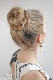 hairstyles with a hair donut 30 buns in 30 days day 11 donut bun and braid hairstyle hair