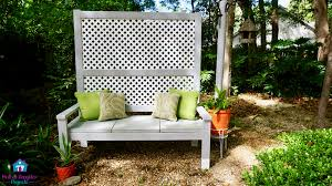 privacy screen bench to grow ivy mother daughter projects