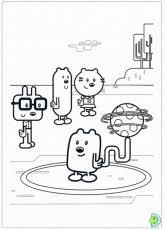 wubbzy coloring pages bulbulk com coloring home