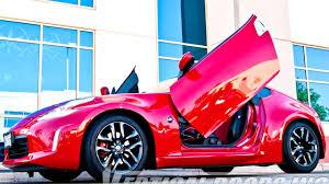 convertible lamborghini pink nissan 370z 2009 2016 vertical lambo doors by vertical doors inc