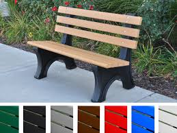 Park Bench Made From Recycled Plastic 31 Fantastic Outdoor Benches Made Recycled Materials Pixelmari Com
