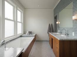 Dwell Bathroom Ideas Heath Ceramics Dwell Bathroom Contemporary With Wood Tub Surround