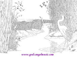 coloring pages for landscapes download free coloring pages to print of beautiful nature
