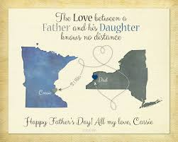 quote for daughter by father father u0027s day gift long distance gift birthday gift for dad