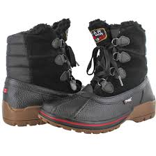 s waterproof boots size 9 pajar banff 2 s waterproof duck boots wool lined ebay