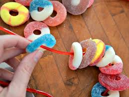 kids u0027 craft candy necklace valentines hgtv
