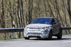 new land rover evoque all new range rover evoque mule spied inside and out autoevolution