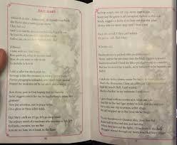 sri lankan church service booklet prints the lyrics to tupac