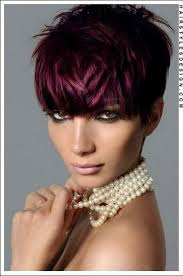 burgundy short hairstyles fade haircut