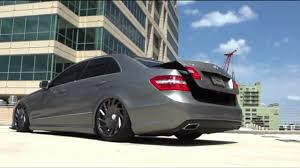 bagged mercedes e class mercedes benz e class tuning air suspension full hd 1080p trap