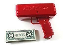 kitchen gun amazon com the cash cannon money gun red kitchen u0026 dining