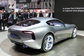 maserati alfieri white maserati alfieri concept design process illustrated by its creators