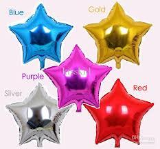 metallic balloons 10 shape helium foil balloons holidays party supply