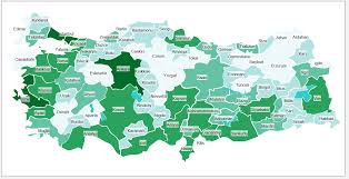 World Map Generator by Turkey Heat Map Excel Template Automatic City Coloring