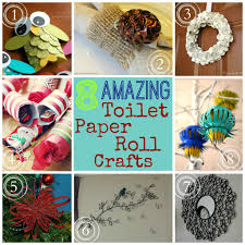 christmas crafts with paper toilet rolls recycling toilet paper