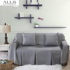 slipcover for recliner sofa online shop l shaped sofa cover for home grey blue sofa slipcover