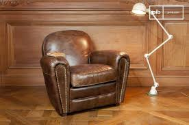 Leather Arm Chairs Leather Armchair Vintage Furniture Pib