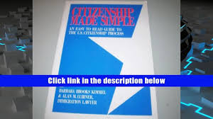 pdf citizenship made simple an easy to read guide to the u s