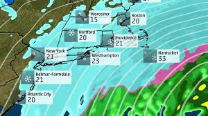 Weather Map Ny Winter Storm Helena Hits New York City The Weather Channel