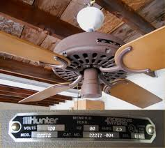 Hunter Original Ceiling Fans by 1981 Hunter 22272 Ceiling Fan Post 1950 Vintage Antique Fan