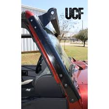 jeep jk light bar brackets under cover fabworks llc jk aluminum windshield guards 50 led