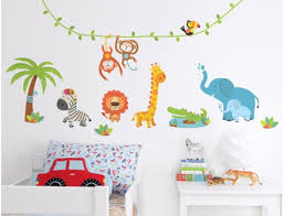Jungle Wall Decal For Nursery How Decor Wall Stickers For Bedroom Optimum Houses Decal Wish