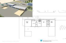 industrial building floor plan pg u0026 e gottc city of winters major projects