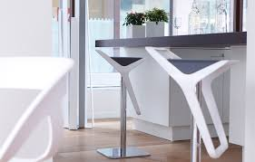 modern kitchen stools white contemporary bar stools for maximize space all
