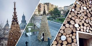 hello christmas tree wooden christmas tree in budapest hello wood feel desain